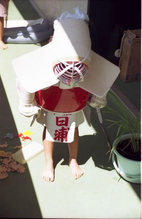 ●姉妹剣士、姉が妹に剣道の形を教えるという遊び-02
